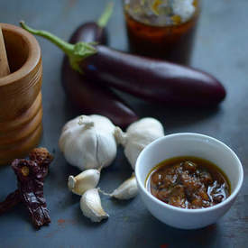Spicy Eggplant Pickle