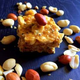 Indian Sesame Peanut Brittle (Sweet & Salty)
