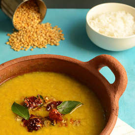 Simple Yellow Lentil Dal