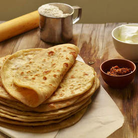 Aloo potato parathas, Stuffed Indian Bread