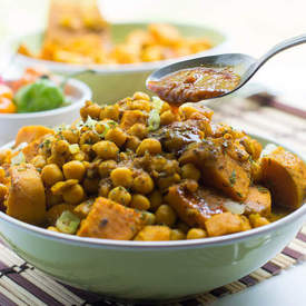 Channa and aloo