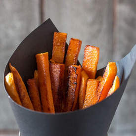Paleo Baked Pumpkin Fries