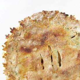 Apple Pie with Browned Butter Crust