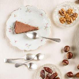 Chestnut Mousse Tart