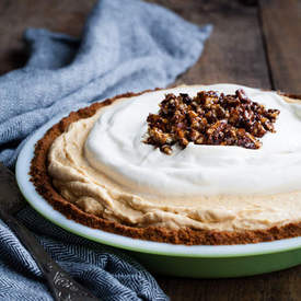Pumpkin Cheesecake Mousse Pie