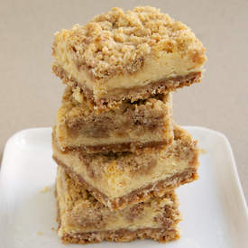 Cinnamon Oatmeal Cream Cheese Bars