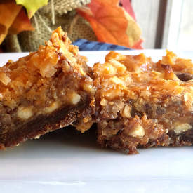 Pumpkin Magic Bars