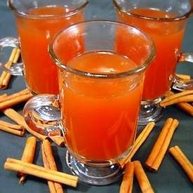 Hot Spiced Cran-Apple Cider
