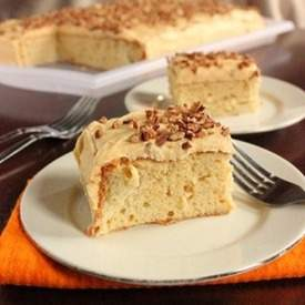 Spiced Tres Leches Cake with Pumpkin Cream Cheese
