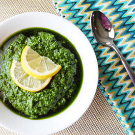 Kale Pesto with Pumpkin Seeds