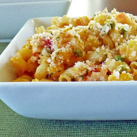 Pumpkin Lobster Mac and Cheese