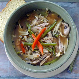 Homemade Turkey Noodle Soup