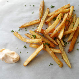 French Fries with Sriracha Mayo