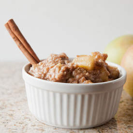 Crock Pot Skinny Caramel Apple Oats