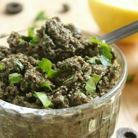 Black olive tapenade