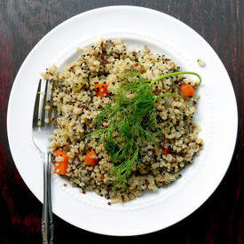 Easy Quinoa Pilaf Recipe