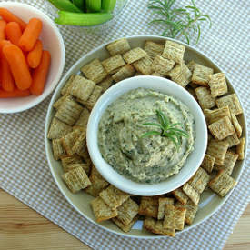 White Bean Dip with Rosemary and Garlic