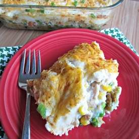 Thanksgiving Leftovers Casserole