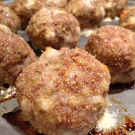 Yummy Homemade Meatballs
