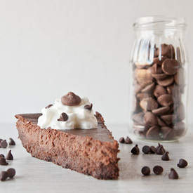 Flourless Brownie Bottom Cheesecake