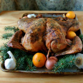Butterflied Dry Brined Turkey
