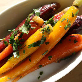 Moroccan Spiced Marinated Carrots