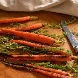 Honey, Lemon and Thyme Glazed Carrots