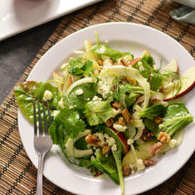 Shaved Fennel and Apple Salad with Gorgonzola